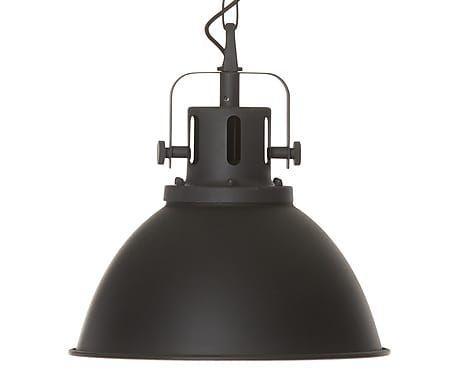 Hängeleuchte Factory, schwarz, Ø 39 cm