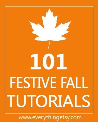 List of Fall decorating blog tutorials: