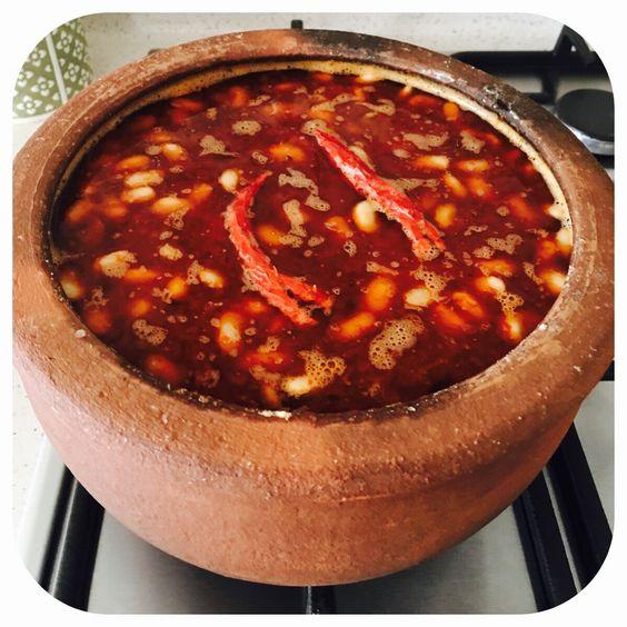 Kuru Fasulye, Sopa de alubias, Turquía