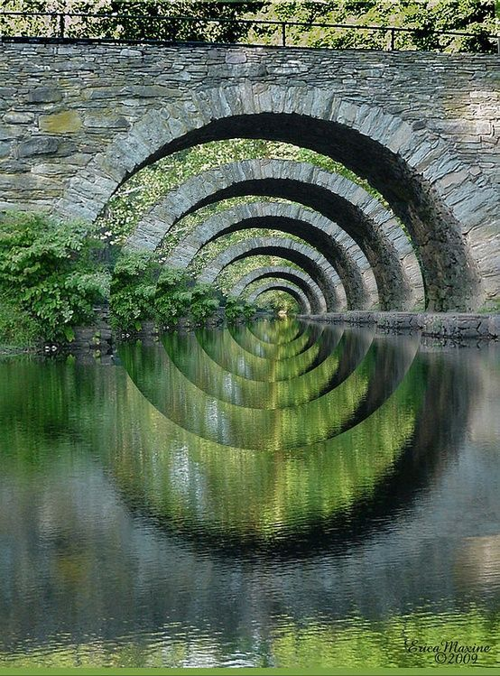 The eternal bridge to peace and well-being awaits those who are willing to cross it.