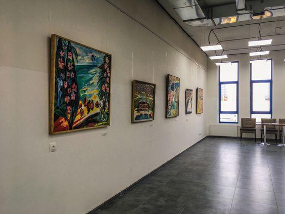 Третий зал с работами художника на выставке «Израильский цикл Израиля Гершбурга». Фото Жени Шведы