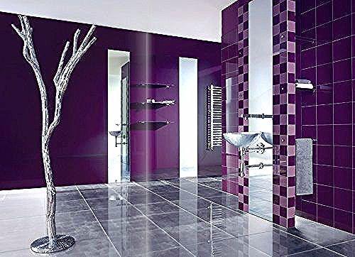 اجمل ديكور الحمام باللون البنفسجي ديكور غرف In 2020 Room Divider Decor Home Decor
