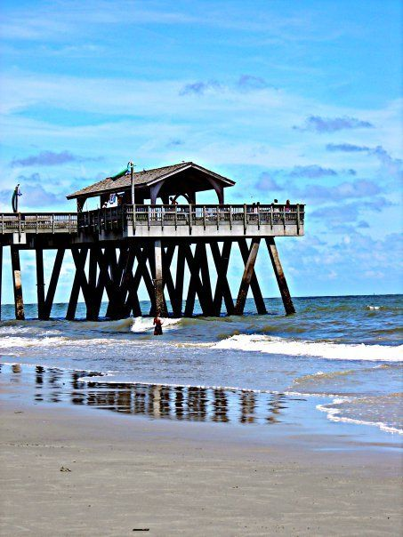 Beach Pier Home Decor For Living Room: Tybee Island Pier Georgia.. My First Beach In About 10