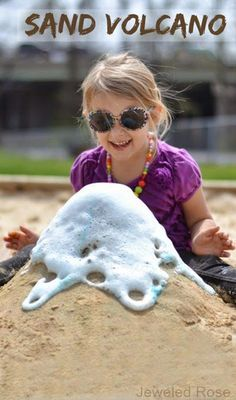 Sand Volcano | Super Fun FREE Things To Do At The Beach