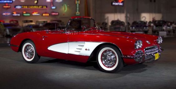 1960 Chevrolet CorvetteRestyled in 1956 to include the now iconic side coves, the 1960 Corvette was ... - 2015 General Motors LLC. Used with permission, GM Media Archive.
