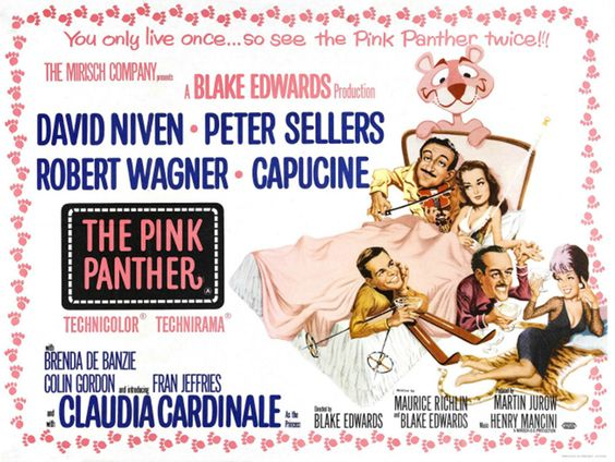 The Pink Panther. Since 1963