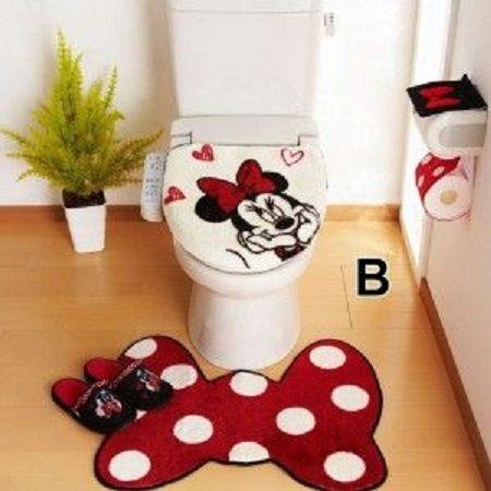 20 Disney Bathroom Sets Magzhouse, Minnie Mouse Bathroom Accessories