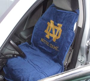 university of notre dame nd car seat cover towel exercise pinterest cars car seats and. Black Bedroom Furniture Sets. Home Design Ideas