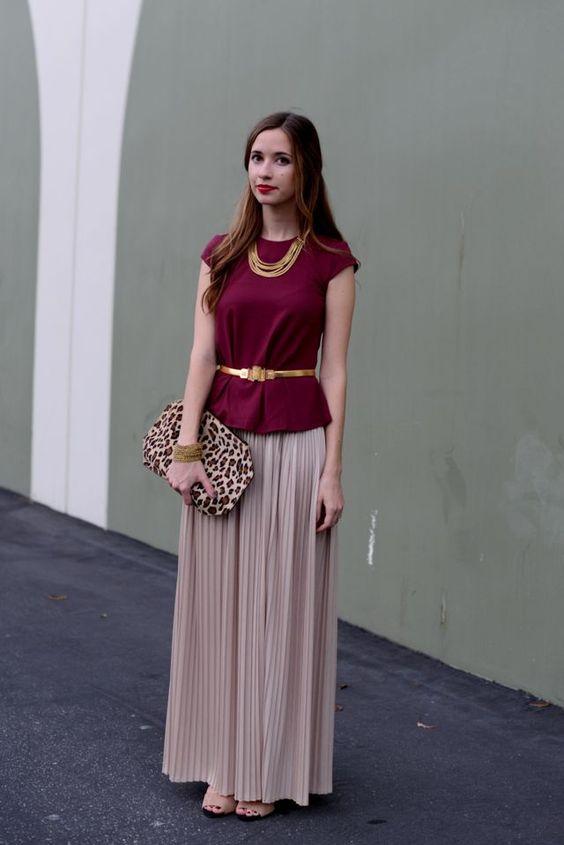 m m maxi up blush pleated maxi skirt maroon