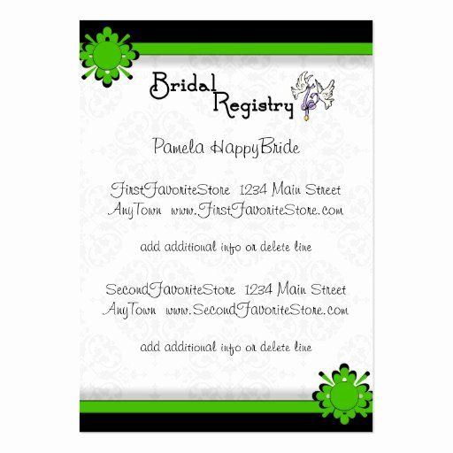 Wedding Registry Card Template Elegant Wedding Registry Card Templates Developersza Wedding Registry Cards Registry Cards Wedding Registry