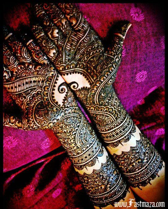 Mehndi Designs For Hands Red : Bridal henna designs mehndi for full