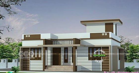 3 Bhk In 1086 Sq Ft Budget Home Design Kerala House Design Small House Elevation Design Single Floor House Design