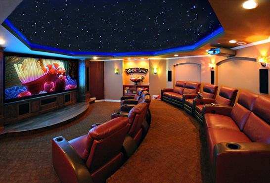 Home theater st paul mn home theater design - Home theater design and installation ...