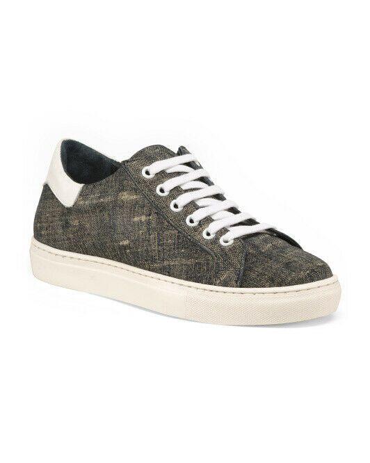 SCENZA Italy Jean Sneakers Denim grey