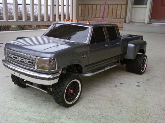 my custom ford dually 4x4 - R/C Tech Forums | RC Crawlers ...
