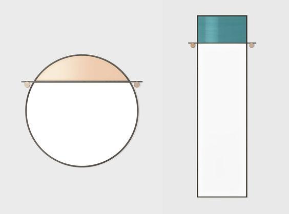 spiegel design Hunting Narud studio kupfer stein stahl