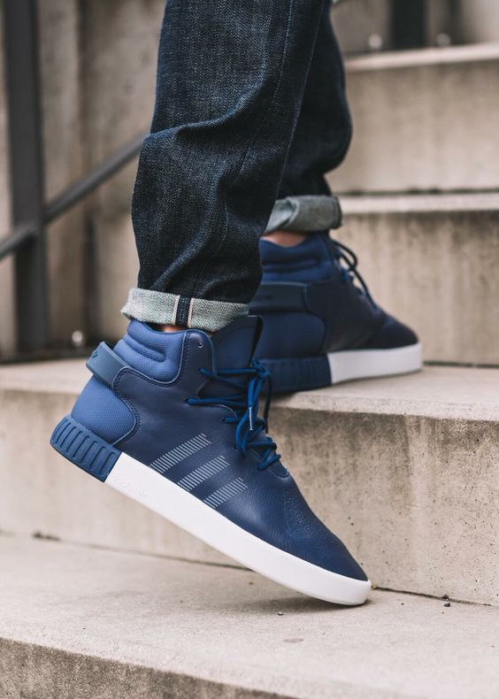Adidas Tubular Invader Blue