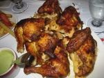 I'm obsessed with Peruvian Grilled Chicken! Pio Pio 702 Amsterdam Avenue, New York, NY. Super busy...well worth the wait!