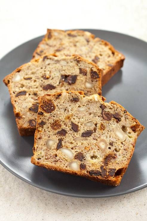 Everyone loves banana bread. But how about Fig and Banana Bread?