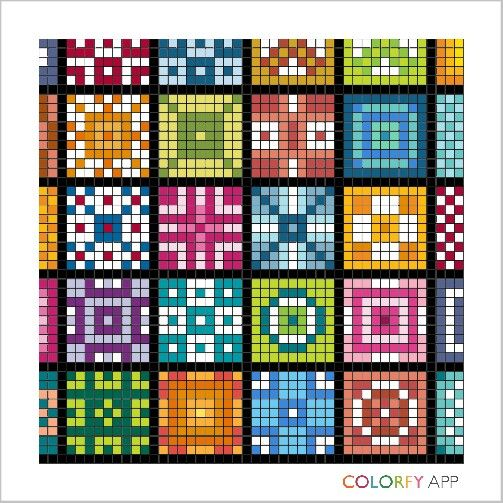 colorfy quilt 88