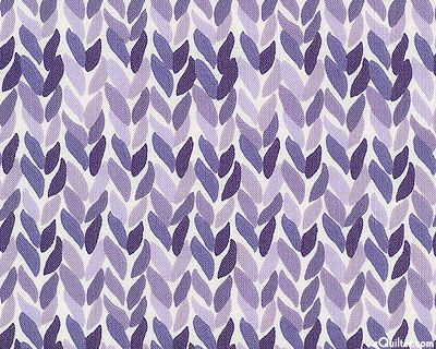 Leafy Knit by Rosemarie Lavin for Windham Fabrics
