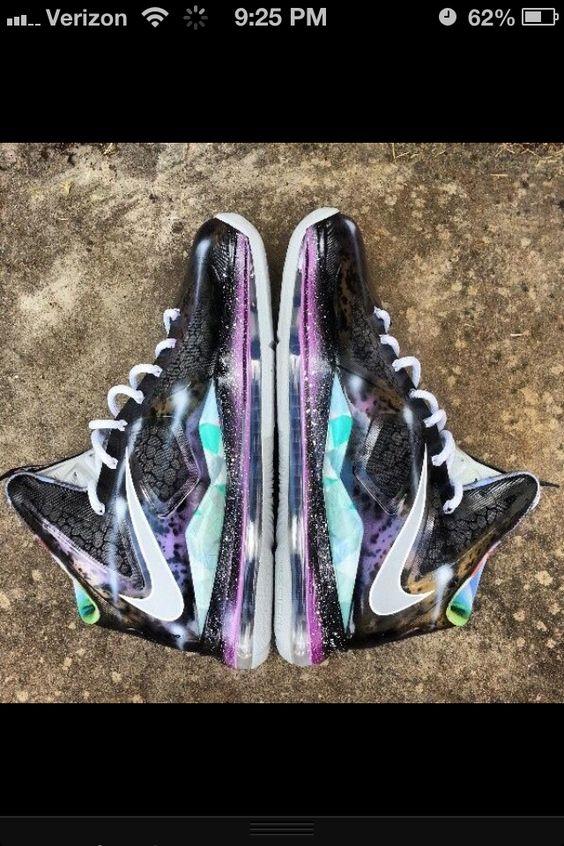 Shoes <3 LeBron Galaxy !