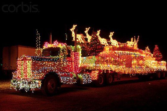 truck light show, Myrtle Creek oregon