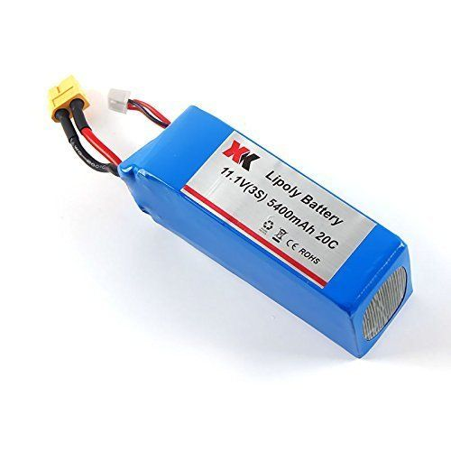 3S XK 380 11.1V 5400mAh 20C Lipoly Battery Spare Parts for X380A X380B X380C RC