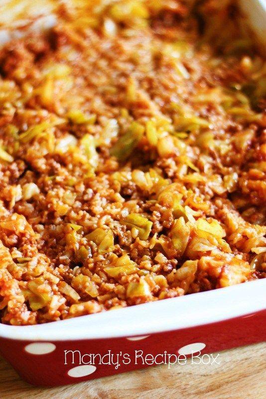 Cabbage Roll Casserole | Mandy's Recipe Box