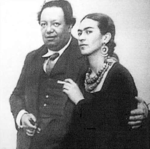 Diego Rivera And Frida Kahlo