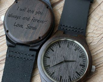 Wedding Gift For Husband Watch : watch groomsmen groomsmen gifts gifts mens watch ideas ssshhh wooden ...