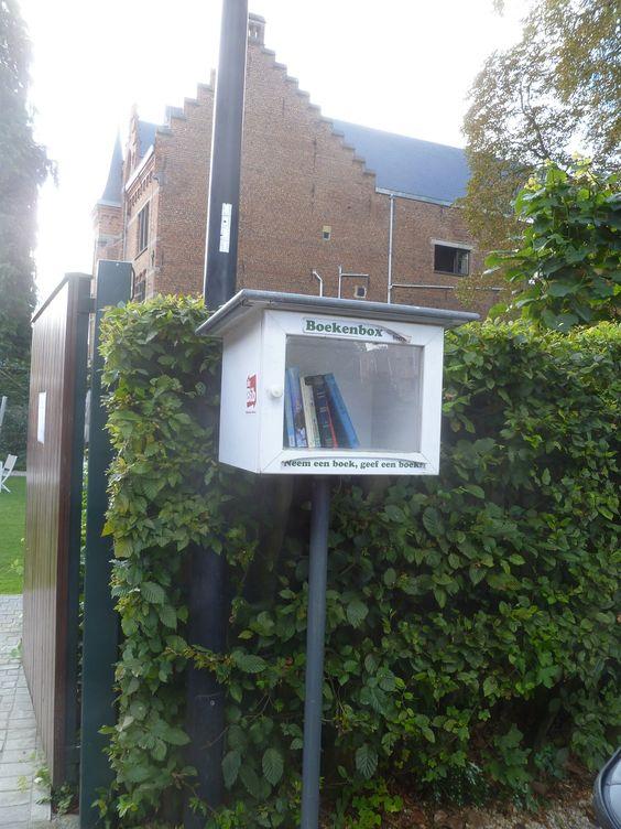 Boekenruilkast Beersel - Alsemberg