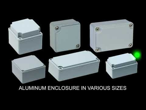 Electric Enclosures Thermoplastic Abs Pc Aluminium Thermoplastic Electricity Emergency Power