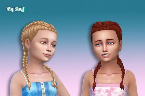 Lana Cc Finds Girls Braids Braids For Kids Braided Hairstyles For Wedding