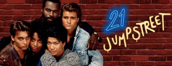 21 Jump Street...Oh I was quite obsessed with this show, and I had a deep crush on Johnny Depp.  I no longer have the crush, but I still adore Johnny Depp's work.