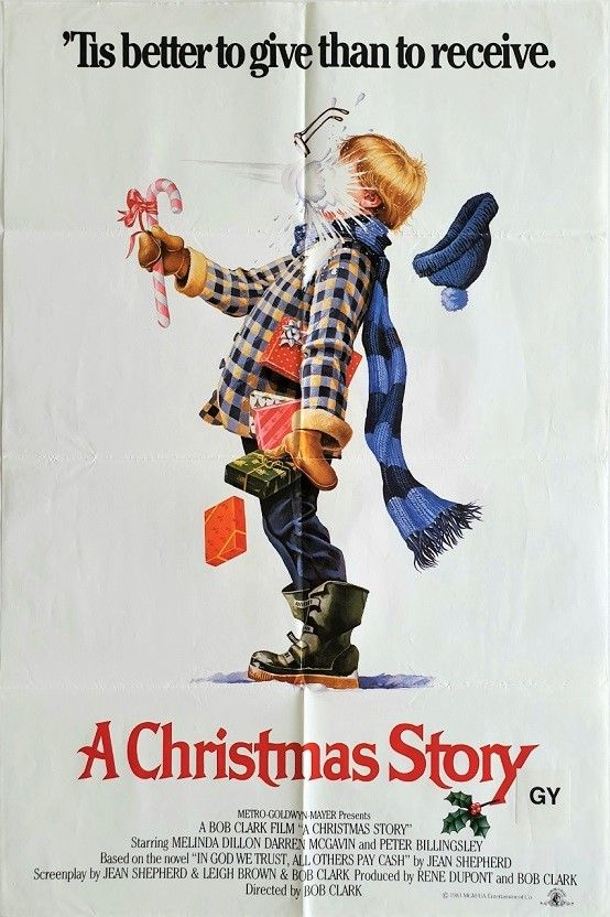 Christmas Story A In 2020 With Images A Christmas Story Christmas Story Movie Movie Posters Vintage