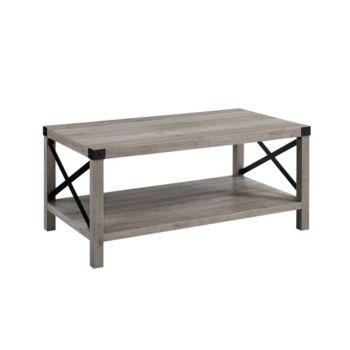 40 Metal X Coffee Table Grey Wash Black Gray Wood Coffee Table Rustic X Coffee Table Coffee Table Wood