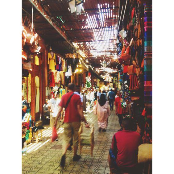 Souks, Jemaa El-Fna, Marrakech