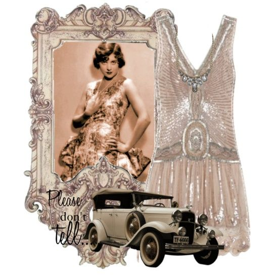 flappers pinned with Bazaart