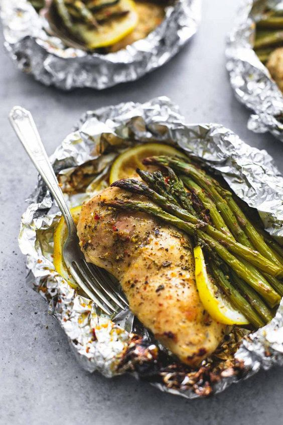 WATCH: Our Favorite Chicken Foil Pack Dinners