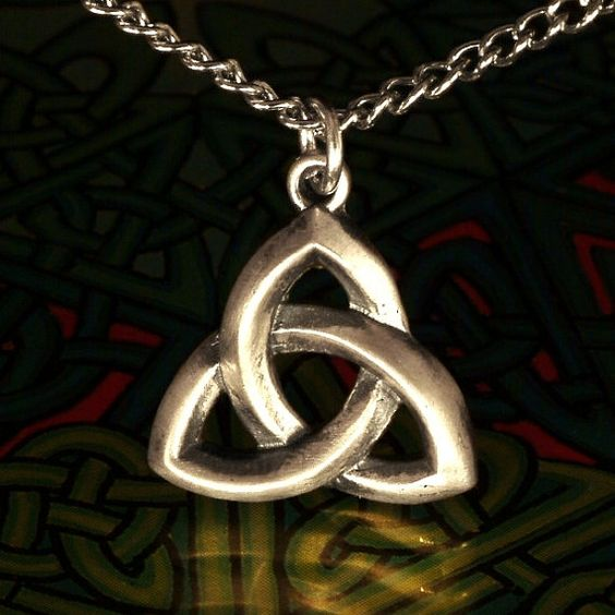 Traditional Irish Celtic Sterling Silver Pendant by CelticEternity, $24.00