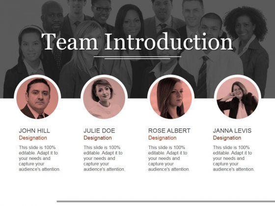 Professionally Designed Visually Stunning Team Introduction Ppt Powerpoint Pr Presentation Pictures Powerpoint Presentation Design Architecture Presentation