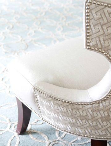Nailhead & Fabric Combination