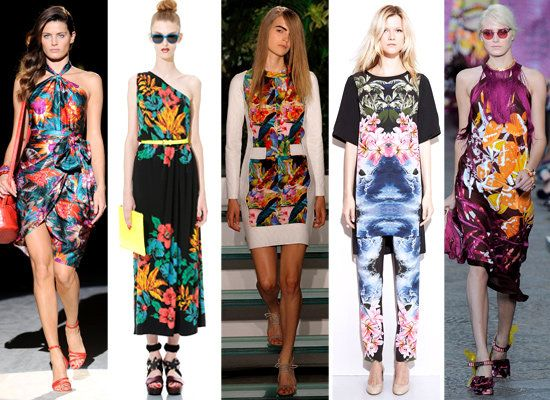 THE EASIEST WAY TO ADD SPRING'S TROPICAL-PRINT TREND TO YOUR WARDROBE