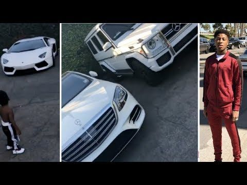 Nba Youngboy Shows Off His 1m All White Car Collection Youtube Nba Outfit Car White Car