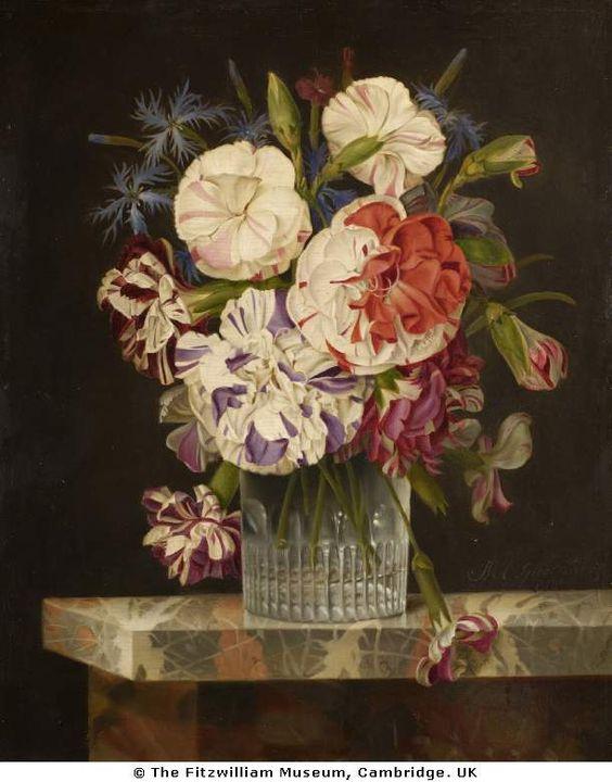 A Glass of Flowers, Michel Joseph Speeckaert 1811