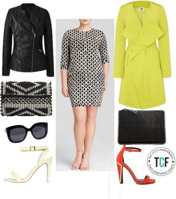 TCFStyle Find: MICHAEL Michael Kors Plus Musenyi Geometric Print Dress