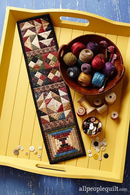 Heartspun Quilts ~ Pam Buda: Wanna Make A Mini Quilt??