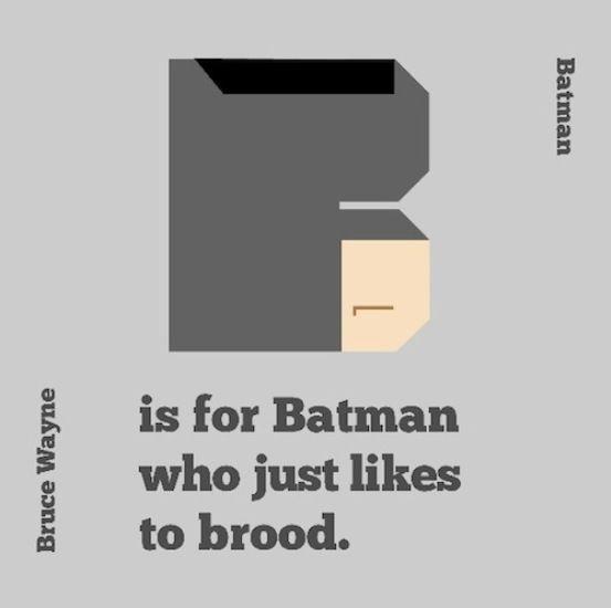 Superhero Alphabet Helps Little #Geeks Learn [PICS]