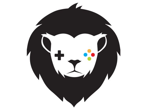lion logo game logo and more lion logo logo templates gaming lion ...